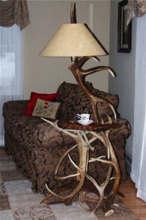 Lamp & End Table